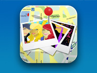 Photo Map App Icon
