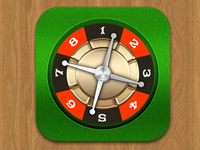 Roulette Icon By Graphicool