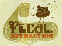 Fecal Attraction - card