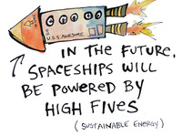 high five spaceship