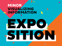 Minor Visualizing Information – Exposition poster