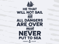 Never Put To Sea