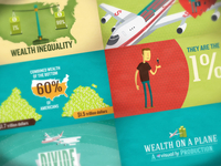 Wealth On A Plane - videographic