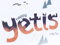 Happy Yetis