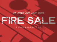 OH MY GOD WE'RE HAVING A FIRE sale