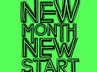 New Month, New Start! Lets go!