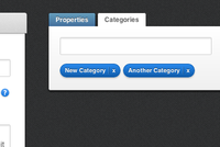 Category Tags in Ample Admin