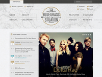 Bluegrass Situation website update