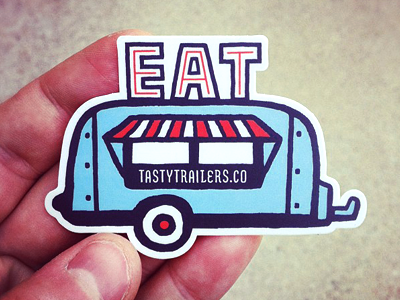 Dribbble-trailer-sticker
