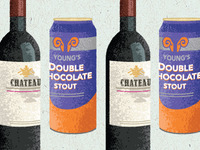 red wine & chocolate stout illus