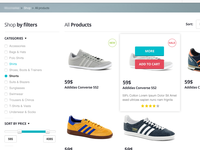 E-commerce Sneakpeek