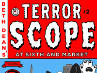 Mini Comic - Terrorscope at 6th & Market