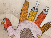 Happy Thanksgiving Dribbble!