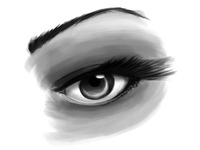 Eye Sketch Photoshop