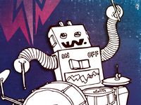 Robot Rock Dribbble