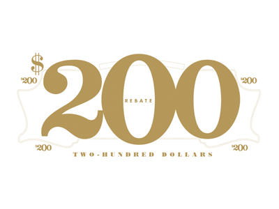 200 Rebate-First stage