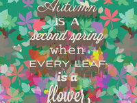 Autumn is a Second Spring - Albert Camus