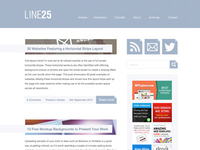 A long overdue Line25 redesign