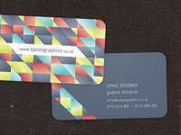 Die Cut Business Card