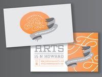 Commonspace Arts - Business Card WIP