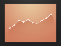 Slick Line Chart (With PSD)