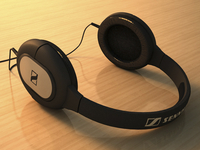 another 3D training: Sennheiser headphones