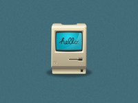 old Macintosh icon