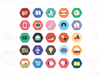 Cool Colorful Icon Set