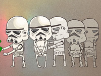 Happy Eid with stormtroopers