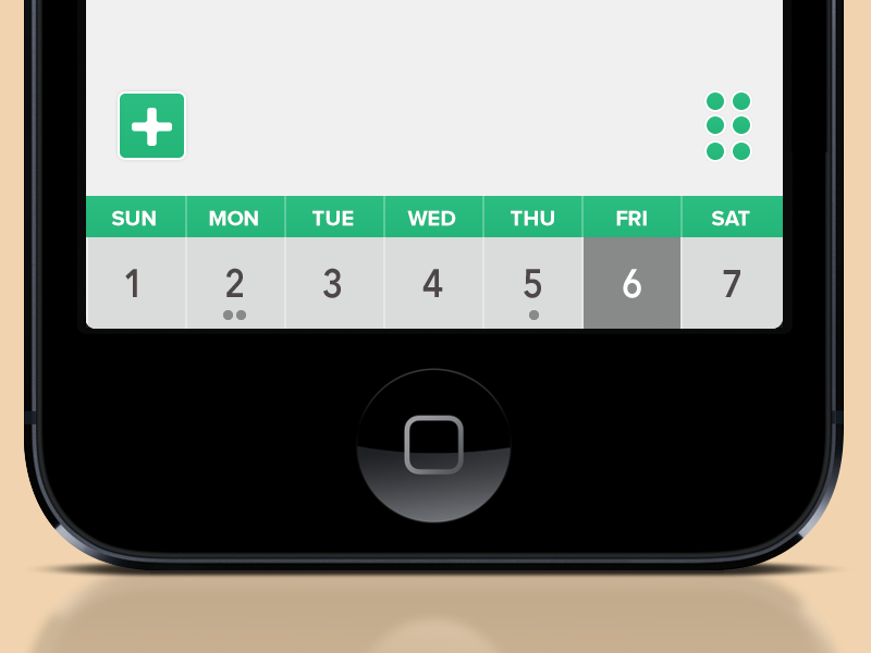 Calendar feed picker