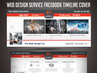 Web Design Service Facebook Timeline Cover