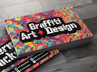 Creative Business Card for Graffiti Artists & Designers