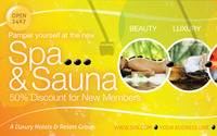 Spa & Sauna Multipurpose Banner & Billboard PSD