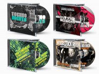 Pro CD Album Cover Artwork Template Bundle
