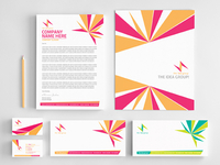 Corporate Identity and Stationery Set 1