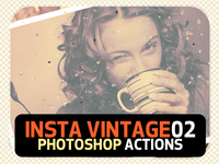 INSTA Vintage Photoshop Actions (ATN) #1