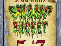 J.Gumbo's Swamp Bucket promo card