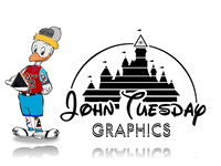 Tuesday Graphics Disney Logo