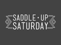 Saddle Up (white)
