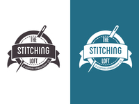 The Stitching Loft: b/w & knockout