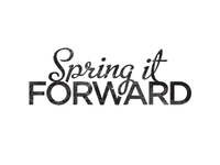 Spring It Forward - logo design