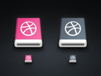 dribbble removable device