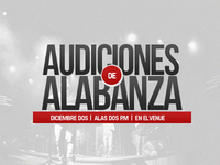 Audiciones Alabanza
