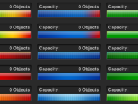 Capacity Meter Color Test