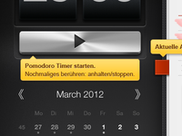 iPhoto like help for Pomodoro iPad App