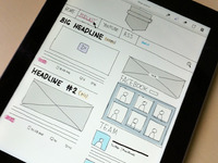 GNS Blog - Wireframe