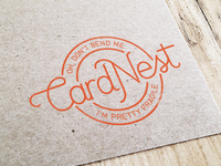 Card Nest Stamp