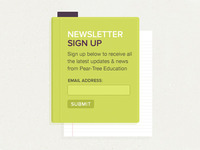 Newsletter Signup Box