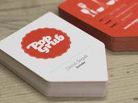 Pop Grub Business Cards