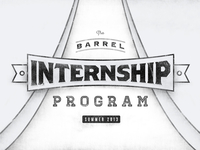 Barrel Internship Program Summer 2013